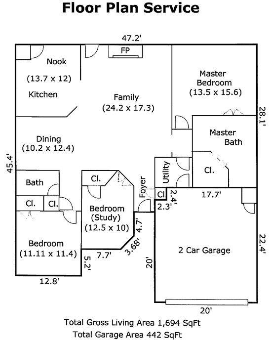 Floor Plan Service